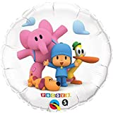 Pocoyo & Friends 18 Pocoy Happy Birthday Party Mylar Foil Balloon by Qualatex