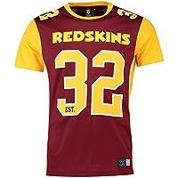 Majestic T-Shirt – NFL Washington Redskins Dene Poly Mesh Granat/Gelb
