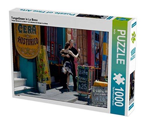 Preisvergleich Produktbild Tangotänzer in La Boca 1000 Teile Puzzle quer: Buenos Aires (CALVENDO Orte)