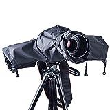 Diealles Protector Antilluvia para Cámaras Protector de Tapa de Lluvia para Canon Nikon y Otras Cámaras Digitales SLR