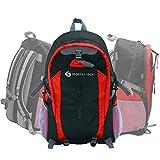 Sportastisch AUSGEZEICHNETER¹ Rucksack 'Sporty Backpack' | ROT | 30L Tagesrucksack für die Freizeit, Wandern, Sport oder Schule | Multi-Pocket-Design | Bis zu 3 Jahre Garantie²