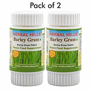 Herbal Hills Barley Grass - Tablets (Pack of 2)