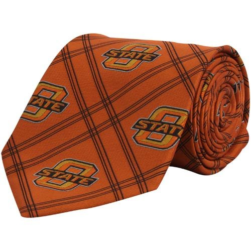 Eagle's Wings Oklahoma State Woven Poly 2 Woven Polyester 2 Tie