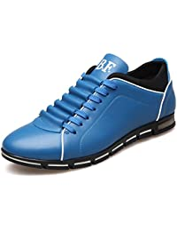 c9cb9e77fe0b0 Mocasines de los Hombres de Moda cómodos de bajo Plano Top de Encaje Zapatos  Casuales