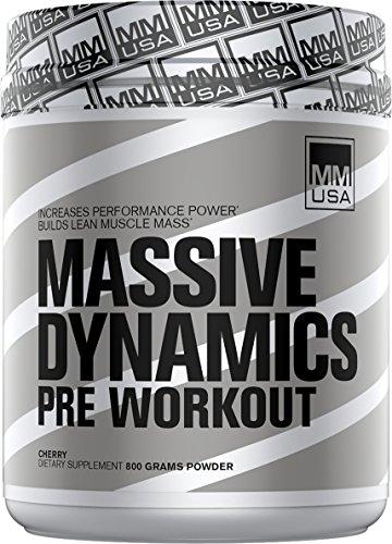 MMUSA Massive Dynamik Muskelaufbau - vor dem Training, 1 Packung (1 x 800 g)