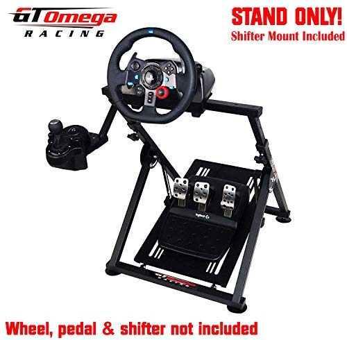 8ef824821b5 GT Omega Racing APEX Steering Wheel Stand for Logitech G29 Gaming Wheel,  Pedals & Shifter Mount - Supporting G920 G27 G25 Fanatec PS4 Xbox PC ...
