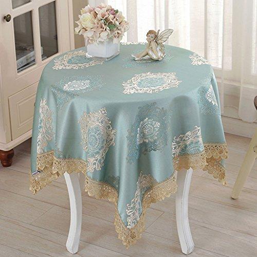 Nappes Nappe carrée, chiffon petit linge de table rond en lin ( Couleur : B , taille : 85*85cm )