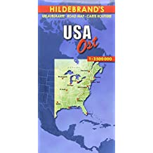 Carte routière : USA, Ost