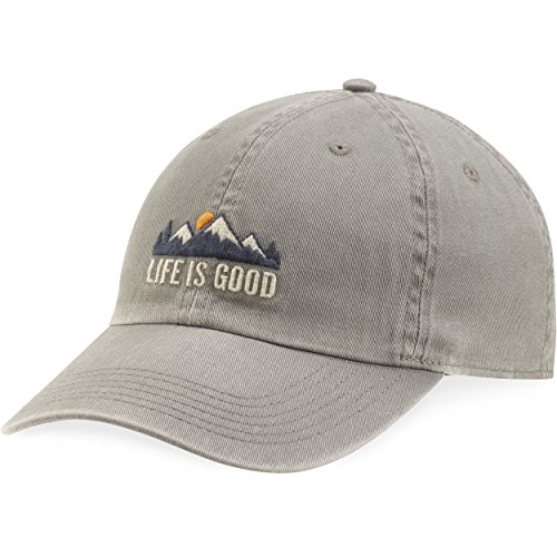 Life Is Good Chill Cap Lig Mountains Gray