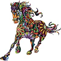 Fish Abstract Design Flower Running Horse Wall Stickers Home Art Decal Decor