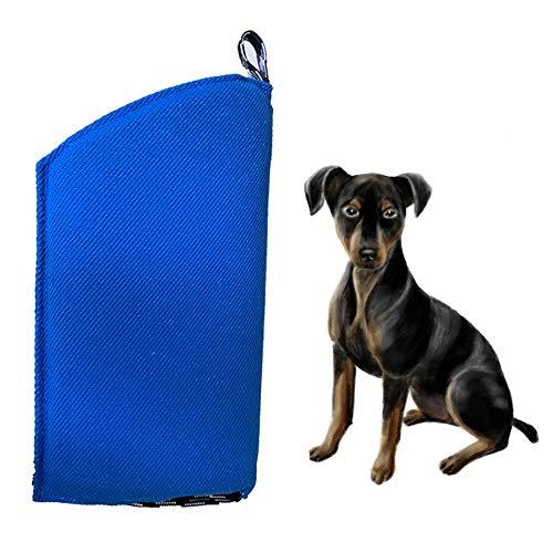 LIBWX Hundebiss-Ärmel-Trainingsschutz, passend für beide Ärmel, kleines Hundetraining-Beiß-Zerrspielzeug