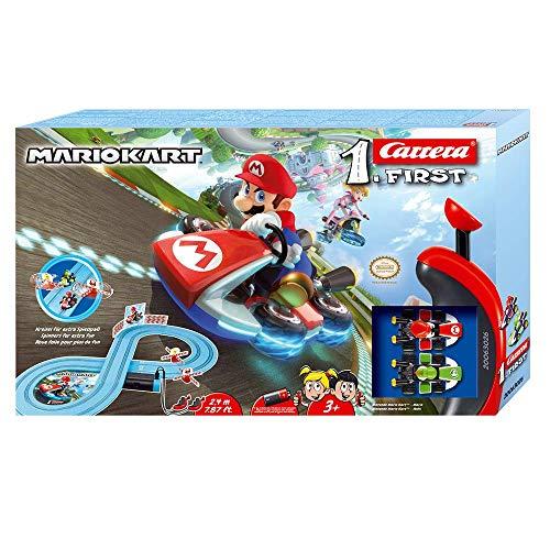 Carrera FIRST Nintendo Mario KartTM 2,4 Meter 20063026 Autorennbahn Set ab 3 Jahren