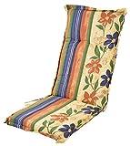 Buri Polsterauflage für Hochlehner Gartenstühle Sitzkissen Sesselauflage Sitzauflage