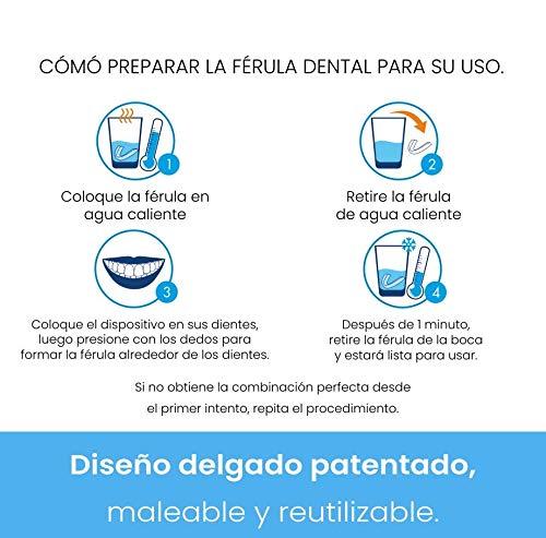 Férula dental de descarga nocturna,  anti bruxismo (rechinar los dientes),  trastornos del ATM