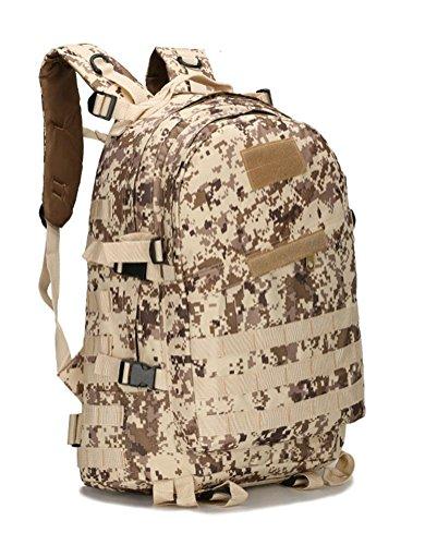 Fortuning's JDS Sport Militär molle Tactical Rucksack Wüstentarnfarbe