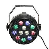 Lixada 15W DMX-512 RGBW LED DJ Lichteffekt Disco Beleuchtung 8