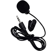 Canbee Professional Mini Lavalier Lapel Microphone 3.5Mm Jack for iOS & Android Phones