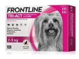 6 Pipette Frontline Tri-Act Spot-On per Cani XS (2 - 5 kg)