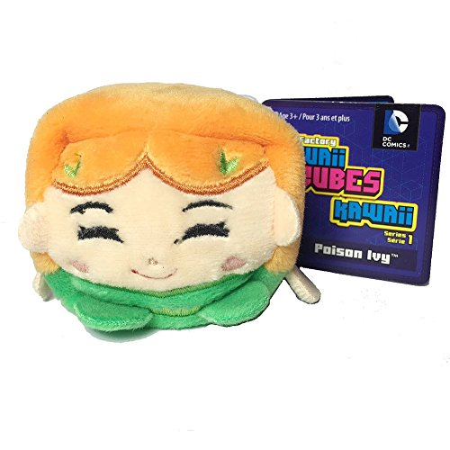 DC Comics Kawaii Cubes Poison Ivy - Small Plush Collectible