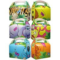 250 x Animal World Childrens Party Meal Boxes FREE NEXT DAY DELIVERY