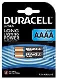 Duracell Specialty Alkaline AAAA Batterie 1,5V, 2er-Packung (LR8D425) entwickelt für den Einsatz in Digitalstiften, medizinischen Geräten und Stirnlampen.