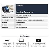 "ASUS VivoBook 15 ( AMD Quad Core R5-2500 /4 GB /1TB / 15.6"" FHD/ Windows 10 )  X505ZA- EJ505T (Dark Grey /1.6 kg)"