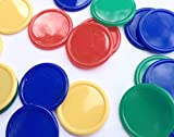 500fichas de póquer, para bebidas, de 4colores