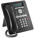 Avaya 1608-I BLK Téléphonie sur Internet Noir