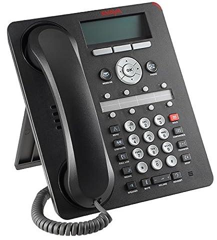Avaya 1608-I BLK Desk Phone - Black