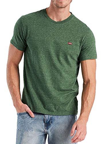 Levis Herren T-Shirt ORIGINAL HM Tee 56605-0004 Grün, Größe:M