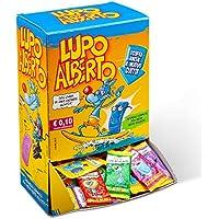 Gelco Lupo Alberto Caramelle Gommose Box da 200 Pezzi, Gusti Assortiti di Frutti, Caramella Incartata Singolarmente, Ideale per Feste per Bambini