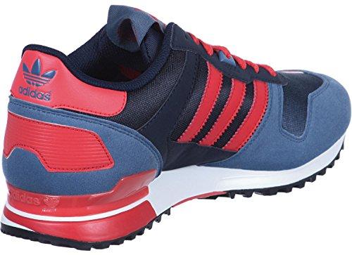 adidas ZX 700 Unisex-Erwachsene Sneakers Blau Rot