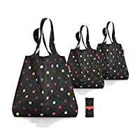 Set of 3 Reisenthel AT7009 Mini Maxi Shoppers - dots