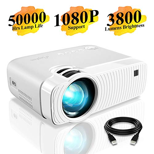 Mini Projector, ELEPHAS 3800 Lum...