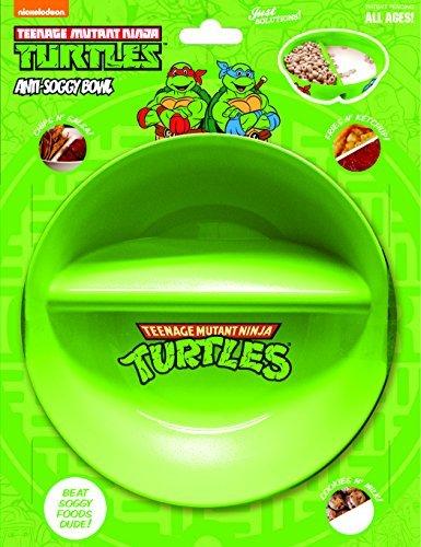 Teenage Mutant Ninja Turtles–anti-soggy Schüssel. für Müsli/Milch, Gemüse/Dip, Pommes Frites/Ketchup und mehr.