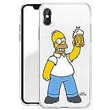 Finoo iPhone X Hardcase Handyhülle Made In Germany Hülle mit Motiv für Optimalen Schutz Polycarbonat Tasche Case Cover Schutzhülle für Dein iPhone X - Bier Liebe