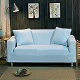 LYIKAI Sofabezug Gewirke Ecksofa Abdeckung Universal Stretch Möbel Decken Dekoration Sofa Sofa, 235 * 300 cm