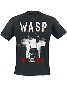 Wasp W.A.S.P. Re-Idolized Camiseta Negro L