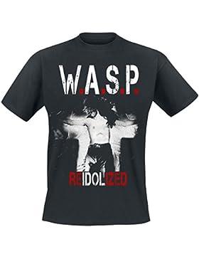 Wasp W.A.S.P. Re-Idolized Camiseta Negro L