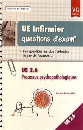 UE 2,6 Processus psychopathologiques