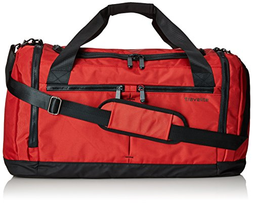 "Travelite ""Flow"" Koffer, 60 cm, 58 liters, Rot, 6775-10"