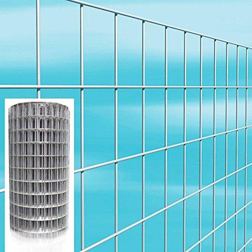 Rete metallica elettrosaldata 50x75 75x50 - h.180-25 mt zincata recinzione