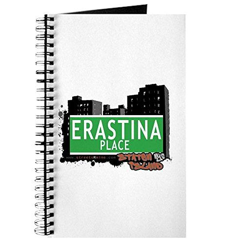 CafePress - ERASTINA PLACE, STATEN ISLAND NYC - Spiralgebundenes Tagebuch, persönliches Tagebuch, blanko