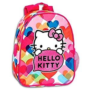 MOCHILA DAYPACK 24CM GUARDERIA HELLO KITTY PRETTY