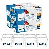 Aqua Optima Evolve - Filtros de agua de 60 días (12 unidades, suministro para 2 años, compatible con Brita Maxtra)