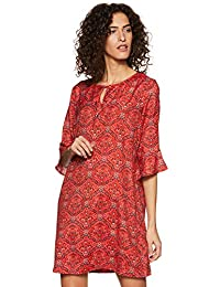 Van Heusen Woman Synthetic A-Line Dress
