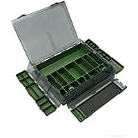 Tackle Box XXL 8 in 1 , Angelbox Sortimentskasten Angelkasten Rig Box