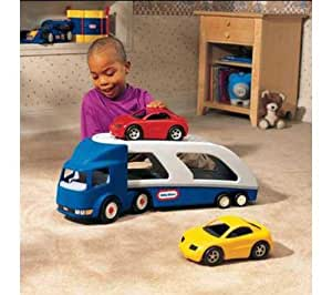little tikes camion convoyeur de voitures jeux et jouets. Black Bedroom Furniture Sets. Home Design Ideas