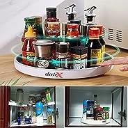 Dedex Spice Organizer Lazy Susan 360 Rotating Storage Organizer for Kitchen Cabinet Fridge Countertop Bathroom