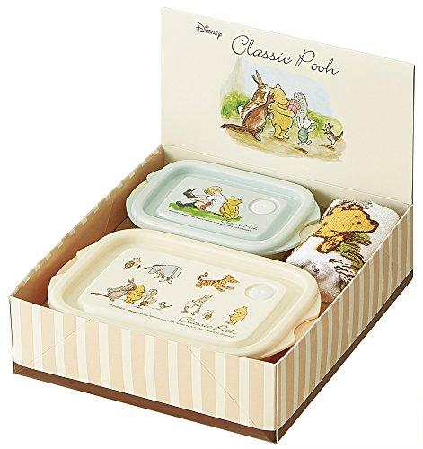 patineuse Capuche à nourriture cuits à la vapeur Serviette Cadeau Lot de 1000 yen Couleur classique Winnie l'ourson Disney des Set929